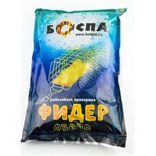 Прикормка БОСПА Фидер Чеснок, 800 грамм