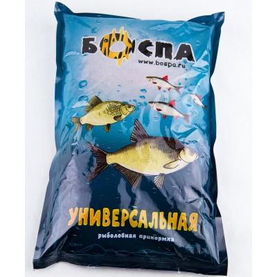 Прикормка БОСПА Универсальная черная, 2.5 кг