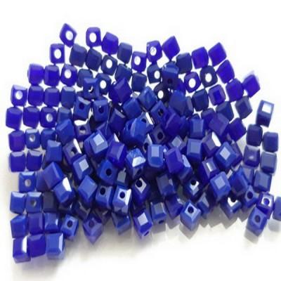 Бисер Синий кубик, 3 мм, 10 шт