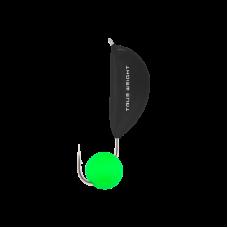 Мормышка Банан с шариком Неон зеленый, 2.5 мм