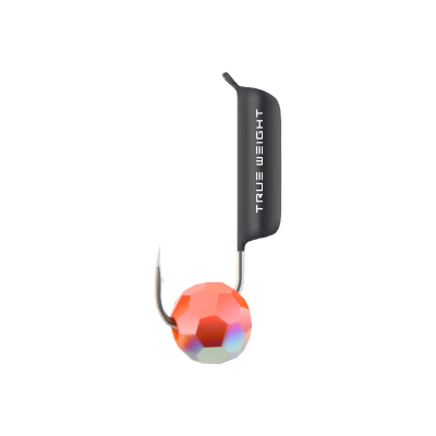 Гвоздешарик Многогранный Красный, 2 мм