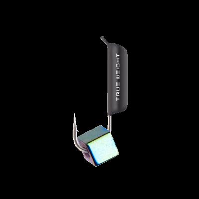 Гвоздекубик с кубиком Гематит, 3 мм