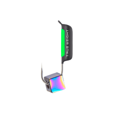 Гвоздекубик с кубиком Хамелеон, 2 мм / полоска фосфор